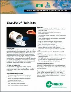 Cor-Pak® Tablets
