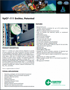 VpCI®-111 Emitter, Patented