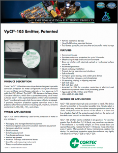 VpCI®-105 Emitter, Patented