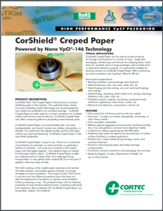 CorShield®VpCI®-146 Creped Paper