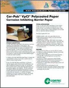 Cor-Pak® VpCI® Polycoated Paper