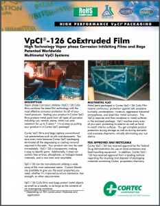 VpCI-126 Co Extruded