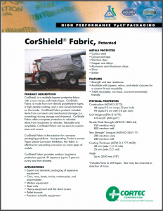 CorShield® VpCI® Packaging Fabric