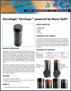 Corrologic® CorrCaps™ powered by Nano VpCI®