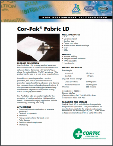 Cor-Pak® Fabric LD