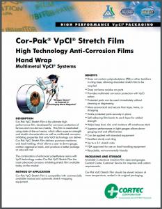 Cor-pak VpCI stretch film PDS