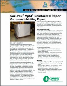 Cor-Pak® VpCI® Reinforced Paper