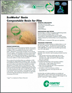 EcoWorks® Resin, Biodegradable Resin for Film