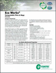 EcoWorks® Biodegradable & Compostable Films & Bags