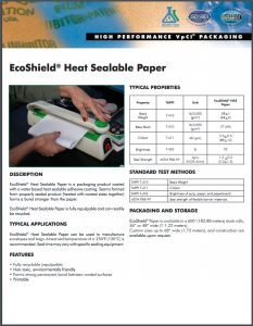 EcoShield® Heat Sealable Paper